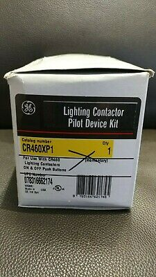 New ABB GE CR460XP1 ON/OFF Momentary Push Buttons Contactor Pilot Device Kit
