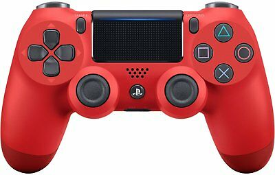 Ufficiale Sony PLAYSTATION 4 Ps4 Dualshock 4 Controller Wireless Magma Red Nuovo