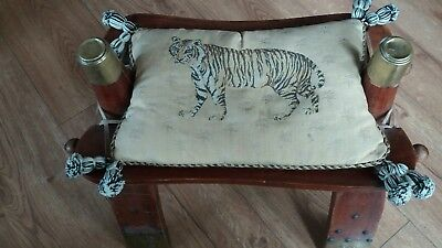 Vintage Egyptian footstool