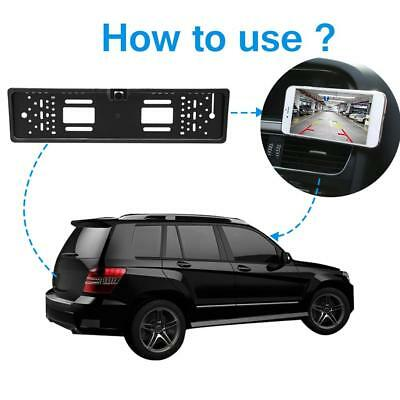 Wireless Wifi Car Backup Rear View for IOS iPhone iPad Android Reversing Camera