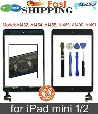 High Quality Replacement For iPad Mini 1st Touch Screen Glass Digitizer Black