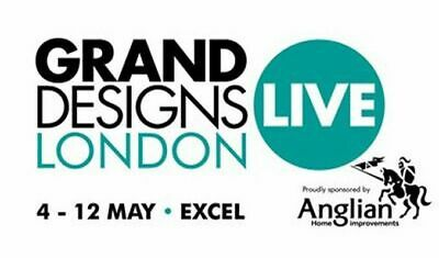 2x GRAND DESIGNS LIVE Tickets LONDON EXCEL ANY DAY  5 13 MA