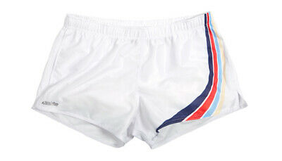 111668d7b AUSSIEBUM MENS WHITE running shorts footy sexy jog run skimpy Gym beach