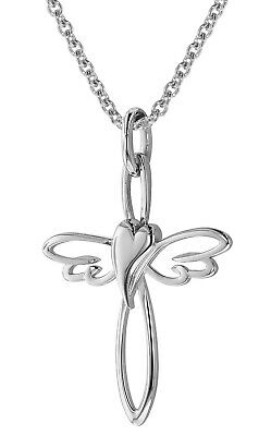 Trendor Jewellery Necklace with cross Pendant 925 Sterling Silver 75009