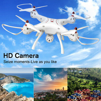 2.0MP HD Camera RC Drone Quadcopter Video Hover Function Headless 3D Flip X8SC