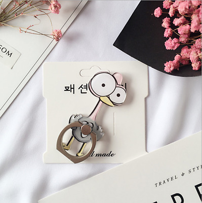 Universal Holder Mount 360° Rotates For iPhone, Samsung Phones Cute Ostrich
