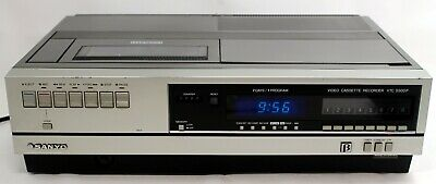 Sanyo Betamax Video Player/Recorder VTC 5300P Powers on, No tape to test further