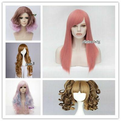 Clearance!!! AU Seller High Quality Lolita Lady Fashion Party Cosplay Full Wigs