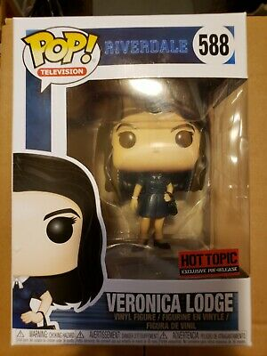 Funko Pop Veronica Lodge Riverdale red sticker Hot Topic exclusive