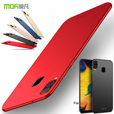 Mofi For Samsung Galaxy A40, Slim Classic Frosted Premium Hard Shell Cover Case