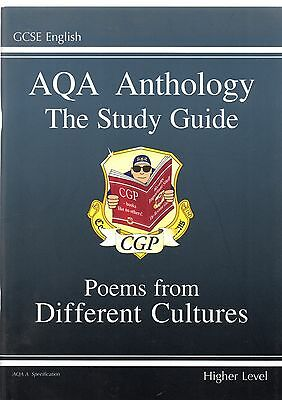 GCSE English AQA Anthology Study Guide - Poems From Different Cultures CGP Books
