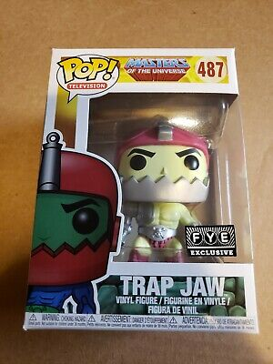 Funko pop trap jaw masters of the universe MOTU FYE exclusive