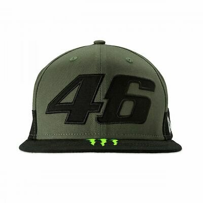 Valentino Rossi VR46 Moto GP Monster Camp Edition Flat Peak Cap Official 2019