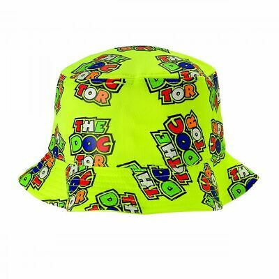 Valentino Rossi VR46 Moto GP The Doctor All Over Print Bucket Hat Official 2019