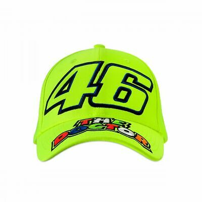 Valentino Rossi VR46 Moto GP The Doctor Kids Cap Yellow Official 2019