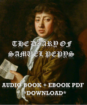 The Diary of Samuel Pepys Audio Book MP3 Download