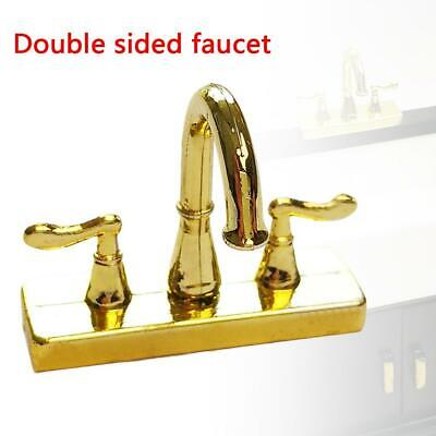 1:12 Scale Dollhouse Miniature Faucet Mixer Tap for Kitchen or Bathroom Sink