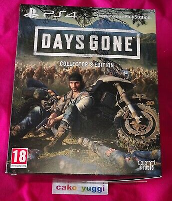 Days Gone Edition Collector Sony Ps4 New 100% Francais + Portefeuille / Wallet