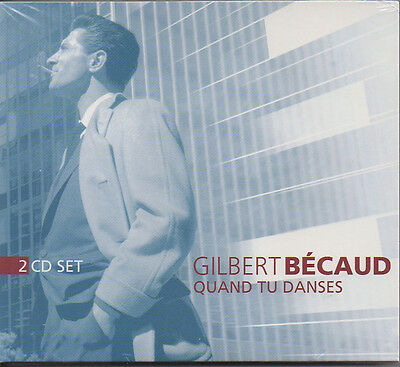 GILBERT BECAUD Quand tu danses / Je t'appartiens - double CD - NEUF