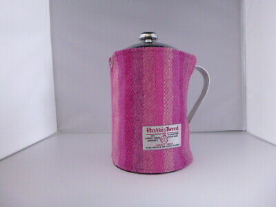 Harris tweed SMALL Cafetiere Coffee pot Blanket Wrap French Press