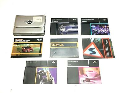 Bmw Mini One D R50 R52 R53 Owners Manual Handbook Case Booklet 2001-2008