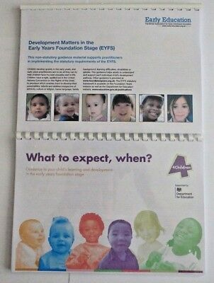 EYFS Early Years Guides Development Matters & What To Expect, When?  Full Colour