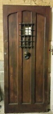 Solid Oak Front Door - free delivery up to 40 miles from Newbury.