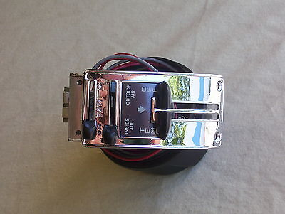 1955/1956/1957/1958/1959  Chevy pick up truck deluxe heater control Restored