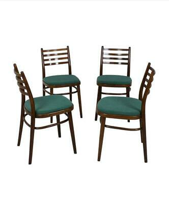 Set of Four Mid-Century Dining Chairs by Interier Praha, 1970, Czechoslovakia