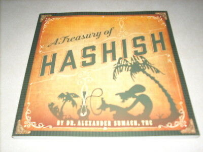 A Treasury of Hashish by Alexander Sumach Thc Paperback Book ,,, English ,,,