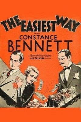 The Easiest Way - 1931 - Constance Bennett Clark Gable Conway Pre-Code Drama DVD