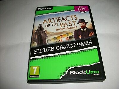 PC Hidden Object Game - Artifacts Of The Past - Ancient Mysteries