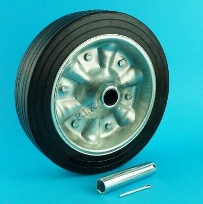 Replacement Extra Wide 225mm Jockey Wheel & AXLE TUBE for Heavy Duty 48mm #97452