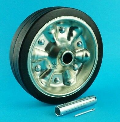 Replacement 200mm Jockey Wheel & AXLE TUBE for Heavy Duty Jockey Wheels  #97435T