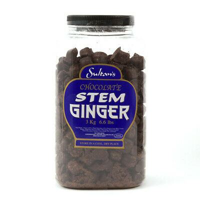 Classic Sultans Chocolate Stem Ginger The Finest Stem Ginger Jar Not Included