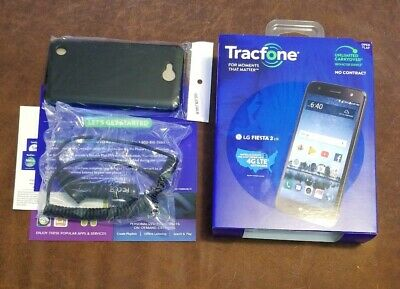 Tracfone LG Fiesta 2 Phone + 1 Year of Service with 1200 MIN / 1200Text /1200MB