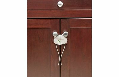 Safety 1st Side by Side Cabinet Lock - One Time Installation - Set of 2