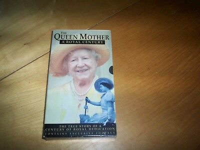 VHS pal video the queen mother a royal century