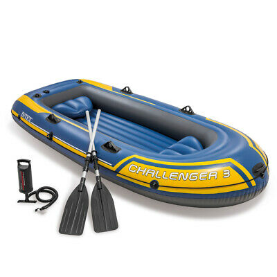 Intex Challenger 3 Boat Set - with oars and pump  - 68370