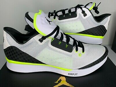 5e43f63ec76614 NEW NIB Sizes 8.5-14 Nike Air Jordan 88 Racer OP White Volt Mens Shoe