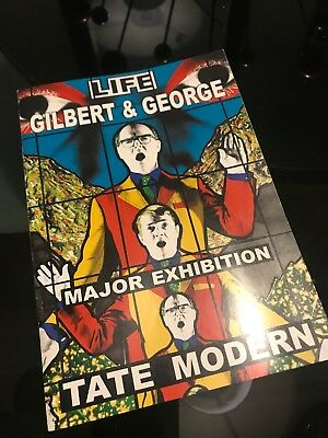 Gilbert and George 1991 Thumbing - notecard