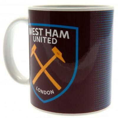 West Ham United FC Halftone HT New Design Ceramic Tea Coffee Mug Cup Xmas Gift