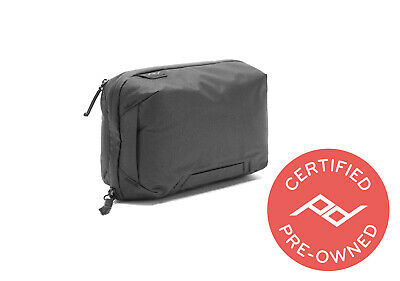 Peak Design Tech Pouch Black (Lifetime Warranty) - PD Certified