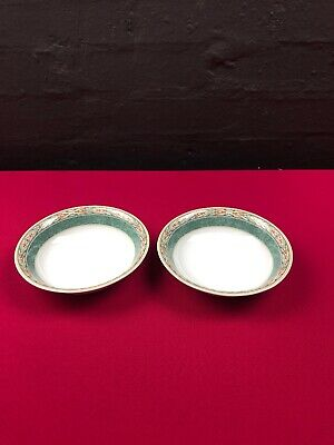 "2 x Wedgwood Aztec Cereal Oatmeal Bowls 6.25"" Last Set Available"