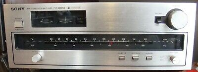 Vintage Sony St-3950Sd Tuner Very Clean Works Fine