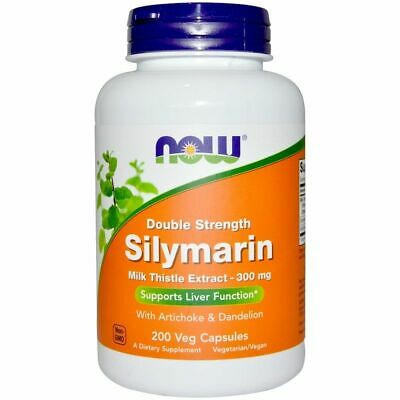 Now Foods - Silymarin, Milk Thistle Extract, 300 mg, 200 Veg Capsules