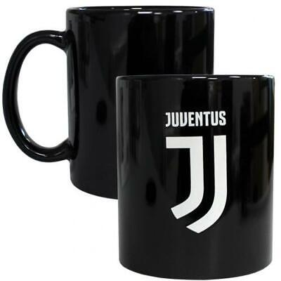 Juventus Fc Crest 11Oz Heat Changing Ceramic Mug - Official Gift