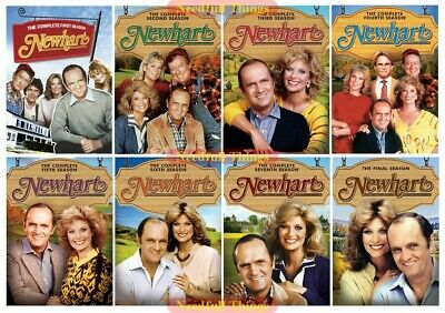Newhart - The Complete Series DVD Seasons 1 2 3 4 5 6 7 & 8 New Sealed Set 1-8