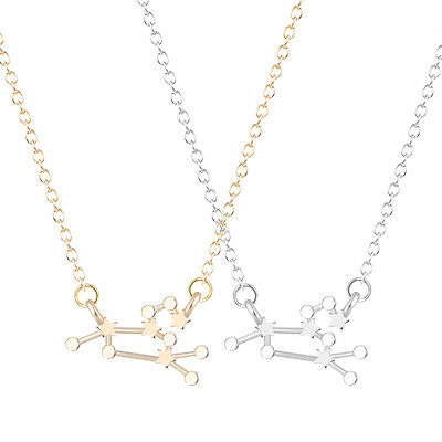 Women Gift Leo Zodiac Sign Astrology Necklace Constellation Jewelry Necklace