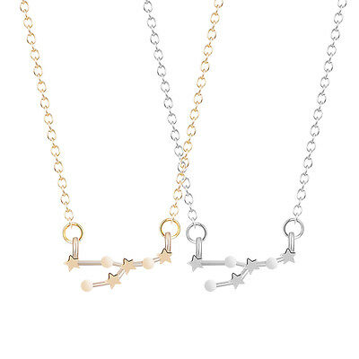 Astrology Zodiac Sign Constellation Necklace Taurus Zodiac Necklace Girls Gift